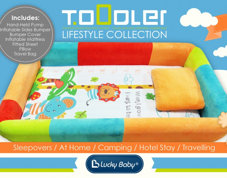 Lucky Baby Toddler Bed Banner