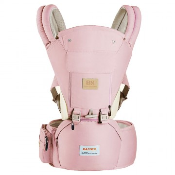 Classic™ 3 In 1 Ergonomic Newborn - Toddler Carrier (Pink)