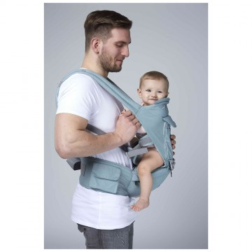 Classic™ 3 In 1 Ergonomic Newborn - Toddler Carrier (Green)