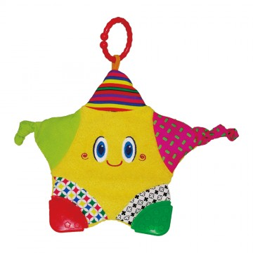 Activity Toys Blanket Teether - Happy Star