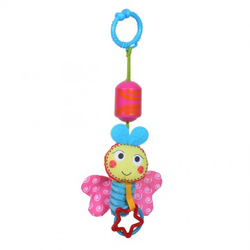 Wind Chime/Rattle Travel Pals - Bizzy Bussy Bee