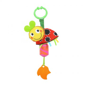 Wind Chime/Teether Travel Pals - Lady Bug