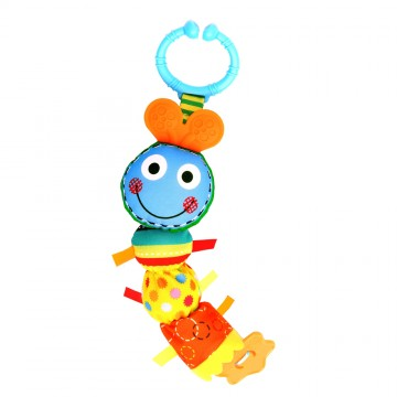 Travel Pals Rattle - Bizzy Bussy Caterpillar