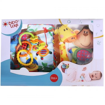 4 Pcs Rattle Gift Set