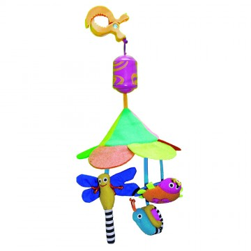 Wind Chime Travel Mobile - Bug