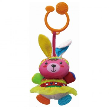 Travel Pals Teether - Lion/Bunny