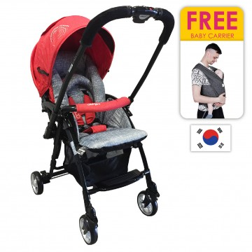 Coni Mini™ Stroller - Red (FREE CARRIER)