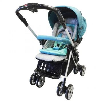 Adonis™ Premium Travel System Stroller - Blue
