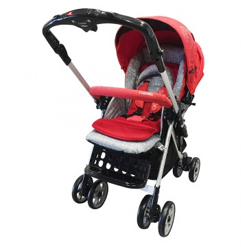 Adonis™ Premium Travel System Stroller - Red