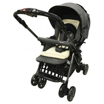 Adonis™ Premium Travel System Stroller - Grey