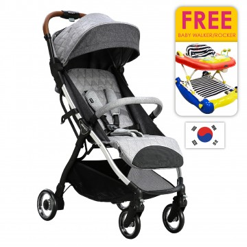 Airmove™ Premium Travel Stroller - L/Gray (FREE WALKER)
