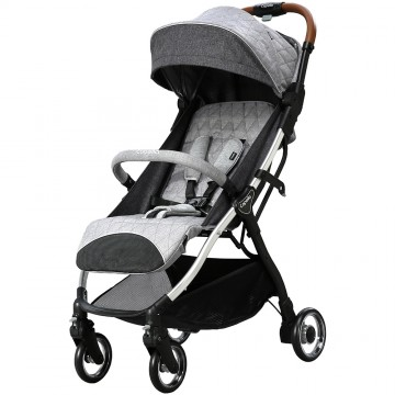 Airmove™ Premium Travel Stroller - L/Gray (FREE FERRARI LUGGAGE SCOOTER)