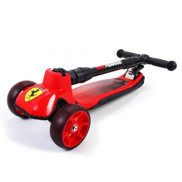 Foldable Twist Scooter - Red