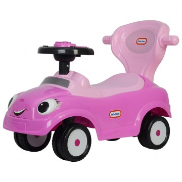 LT 3 in 1 Ride On Push Car - Pink