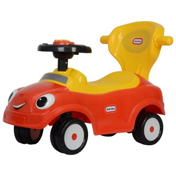 LT 3 in 1 Ride On Push Car - Red