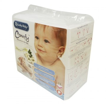 Comfy™ Napee GAUZE Cloth Nappy