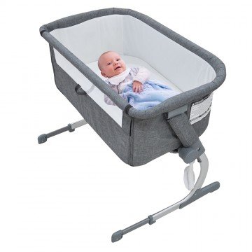 Dreemee™ Side Sleeping Crib - Grey