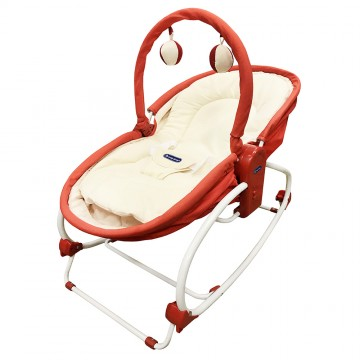 Rocky Snoozy™ 3 In 1 Rocker/Sleeper/Chair - Red