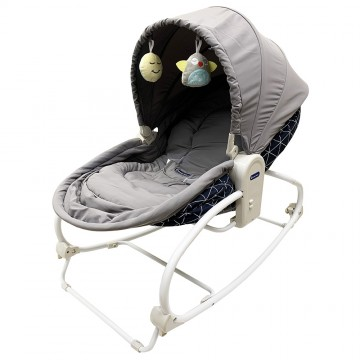 Rocky Snoozy™ 3 In 1 Rocker/Sleeper/Chair - Blue