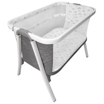 Krib™ Side Sleeping Crib - CLOUD