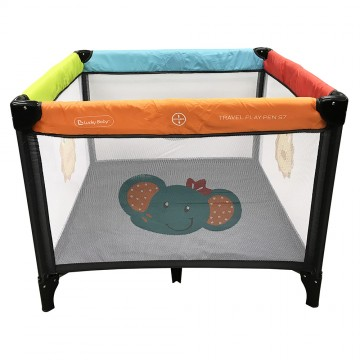 S7™ Travel Playpen + IBreathe Mattress