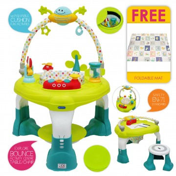 Orbit Multi functional Activity Centre (FREE Play Mat)