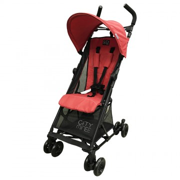 City Minee™ Light Weight Stroller - Red