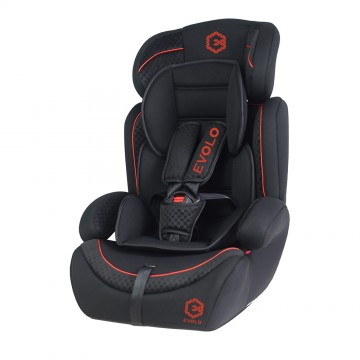 Evolo™ Safety Carseat - Black