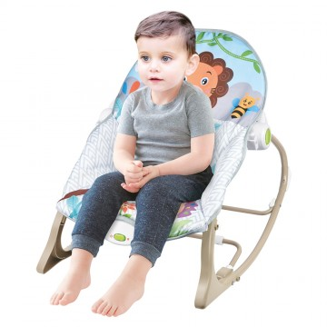 Infant to Toddler Rocker (Vibration/Music) - Lion