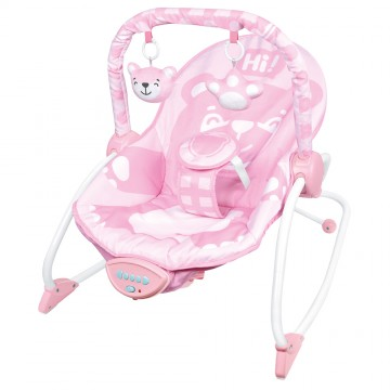 Infant to Toddler Rocker (Vibration/Music) - Bear