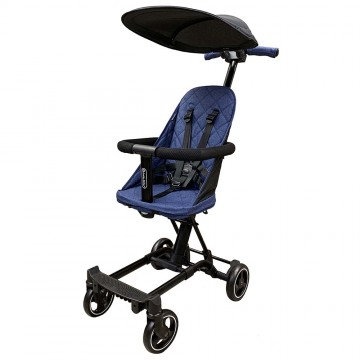 (Bundle) City Jifee™ Convertible Multi Rider + Canopy (Free Travel Bag) - BLUE