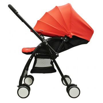 Flash™ Stroller W/Reversible Handle - Red