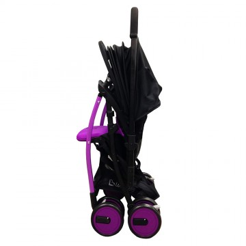 March™ Stroller W/Reversible Handle - Purple