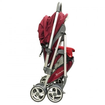 City Magic™ Stroller W/Reversible Handle - Red