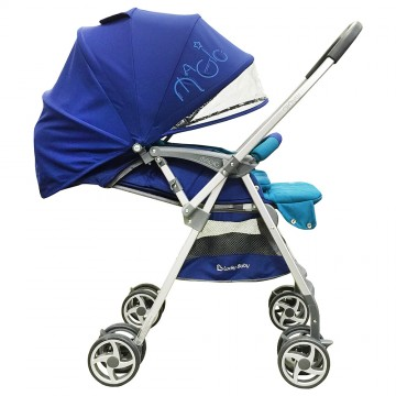 City Magic™ Stroller W/Reversible Handle - Blue