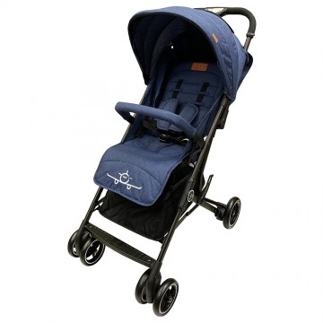 (Bundle) City Travel™ Active Stroller + City Jifee™ Convertible Multi Rider BLUE