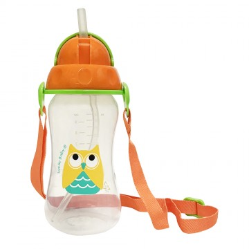 Sapee™ Straw Bottle W/Strap (280ml)