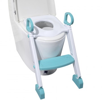 Step Up Potty Training Seat W/Ladder - Blue