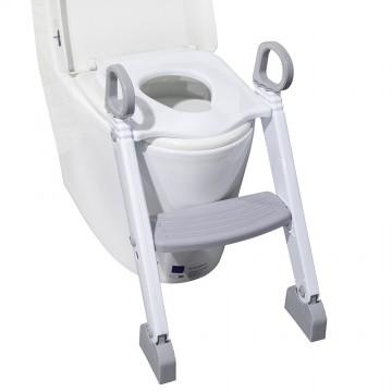 Step Up Potty Training Seat W/Ladder - Grey