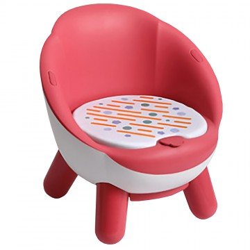 Beep Beep Chair (Round) Red