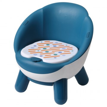 Beep Beep Chair (Round) Blue