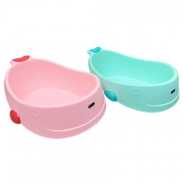 Whale Bath Tub (Blue/Pink)