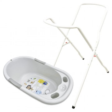 Bubble™ Bath + Tub Stand (Grey)
