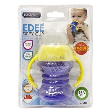Edee™ Silicone Spout Sippy Cup With Extra Spout (270ml)