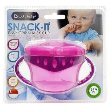 Snack-It™ Easy Grip Snack Cup