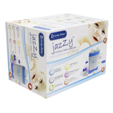 Jazzy™ 6 Bottles Steam Sterilizer