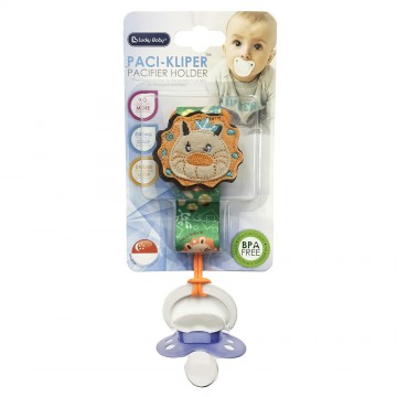 Paci-Kliper™ Pacifier Holder - Lion