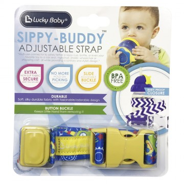 Sippy-Buddy™ Adjustable Strap - Robot