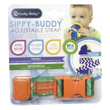 Sippy-Buddy™ Adjustable Strap - Lion