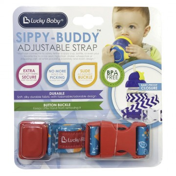 Sippy-Buddy™ Adjustable Strap - Owl